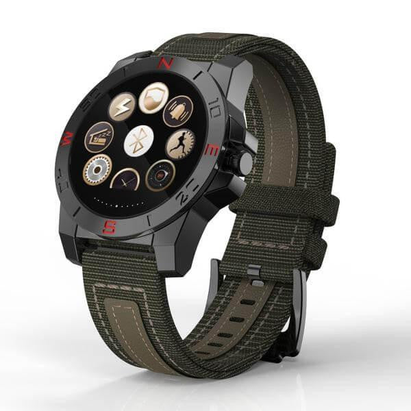 Multifunction Tactical Fitness Smartwatch iOS/Android - Base Trail