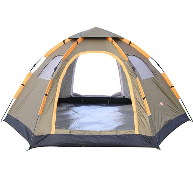 6 Person Large Waterproof Camping Tent - Base Trail