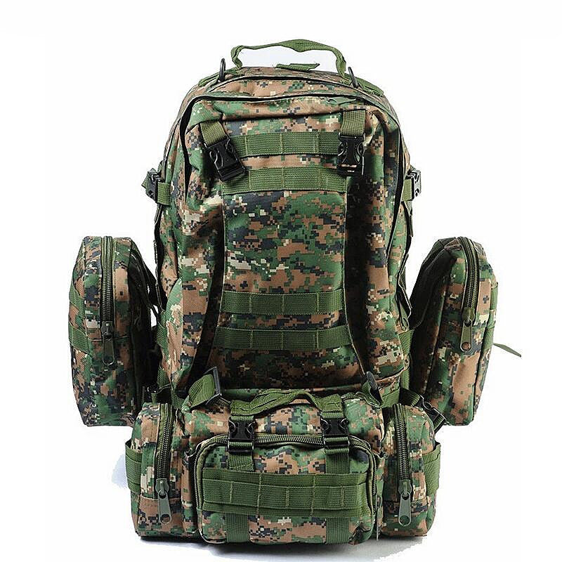 Large Capacity Tactical Multifunction Outdoor Backpack - Base Trail