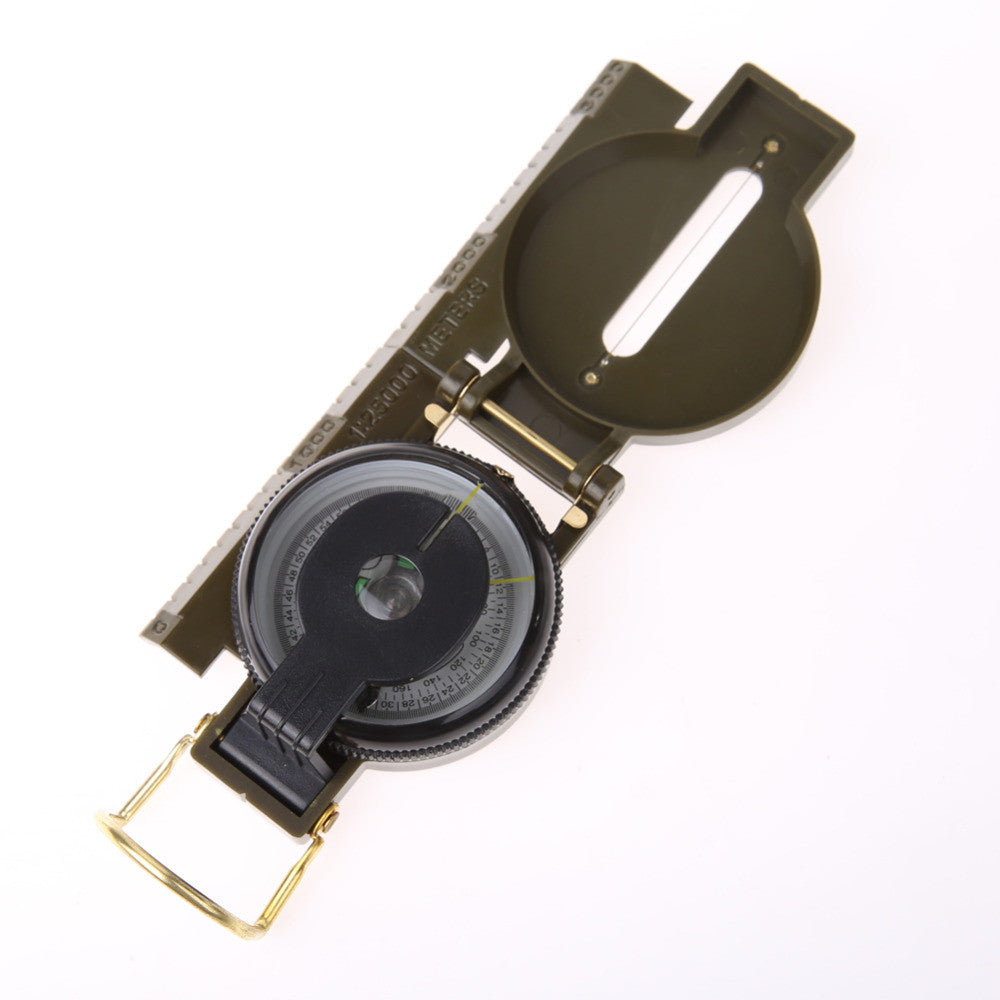 Multifunction Army  Folding Lens Compass