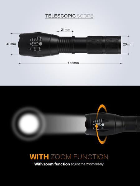Durable LED Torch Flashlight - Base Trail