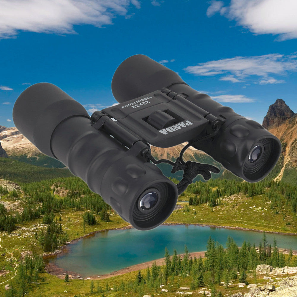 Portable Camping Hiking Traveling Bird Watching Magnification Folding Pro Binoculars