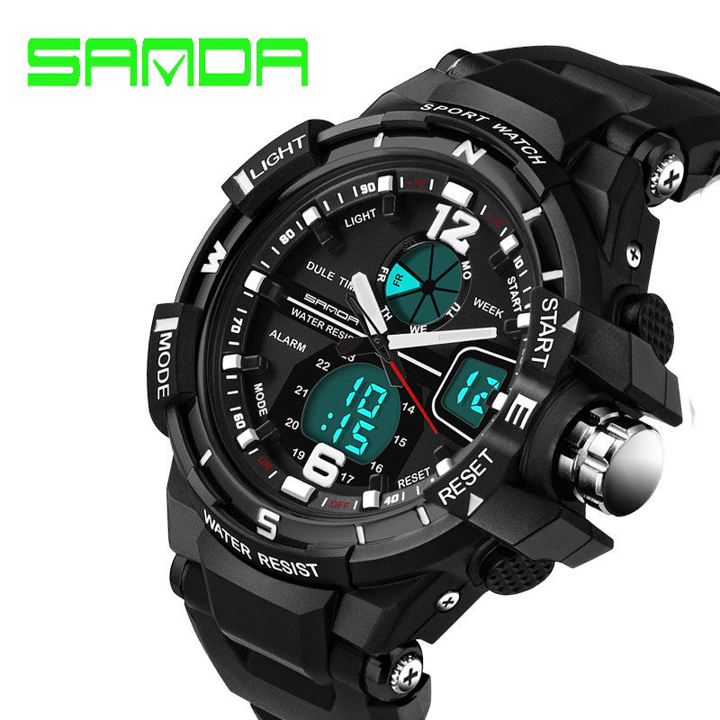 Military Digital Quartz Water Resistant Watch - Base Trail