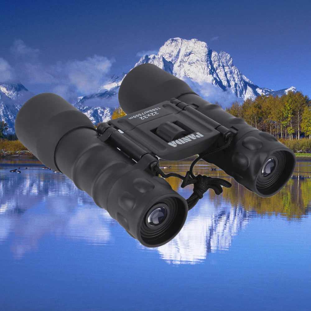 22x Magnification Folding Pro Binoculars