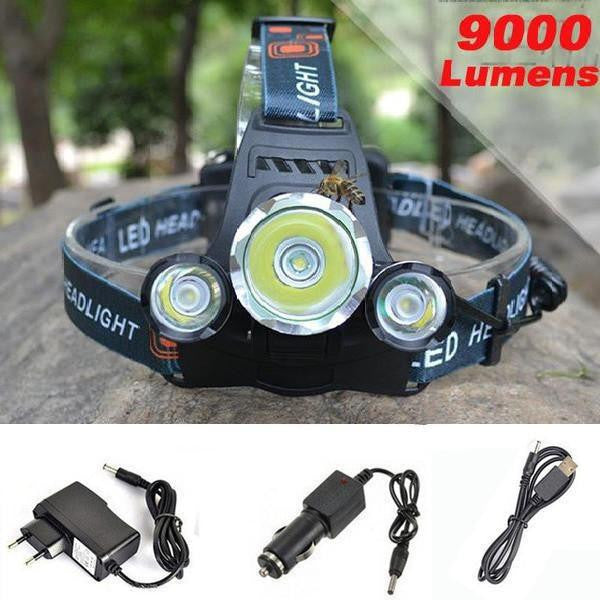 Hiking/Cycling/Camping Bright LED Headlamp