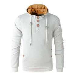 Hoodie with Contrast Details (5 Colors)