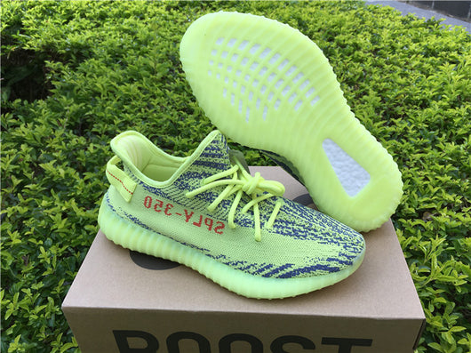 adidas yeezy boost 350 v2 semi frozen yellow resale