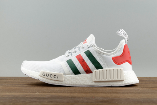 GUCCI X ADIDAS NMD'S 'WHITE'