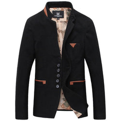 Cotton Jacket With Revere Collar (3 COLORS)