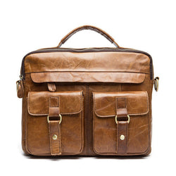 Exclusive Vintage Leather Briefcase (4 Colors)