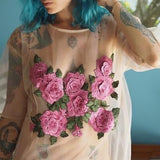 Summer Embroidery Top