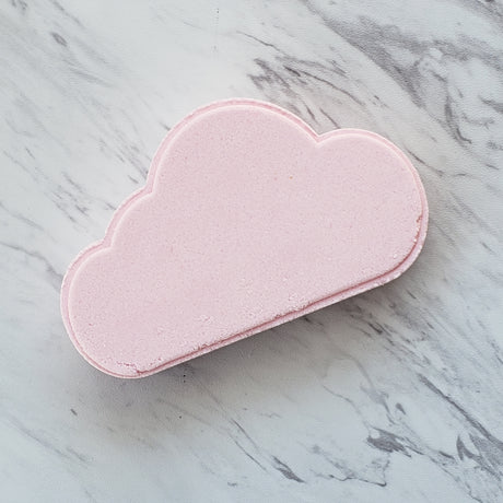 Pink Rainbow Cloud Bath Bomb
