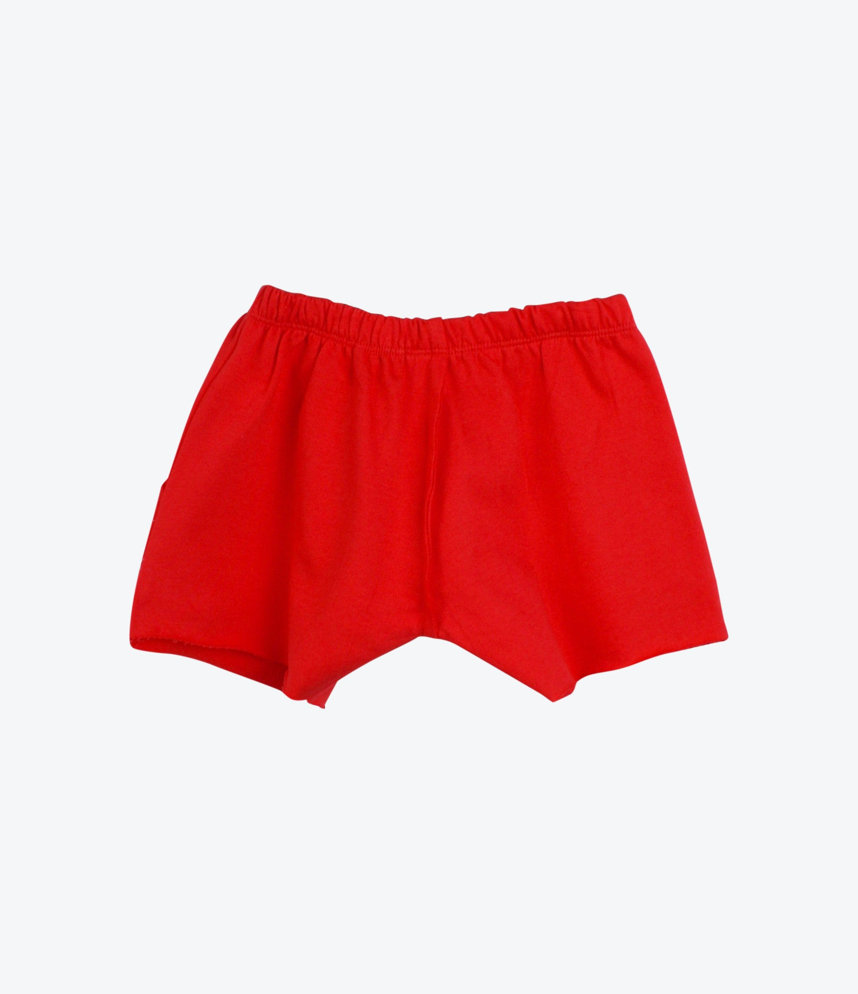 Red Rainbow French Terry Short