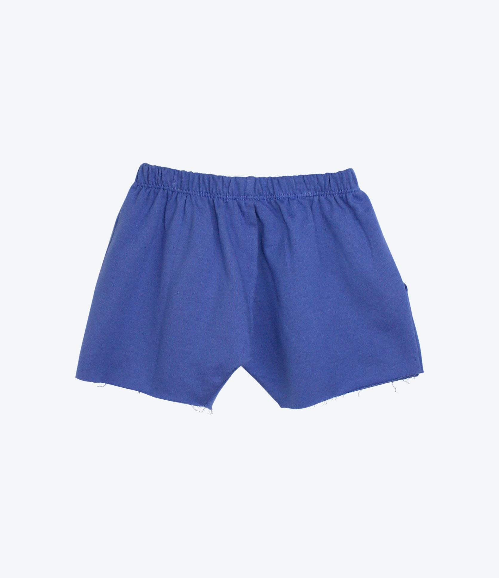 Blue Rainbow French Terry Short