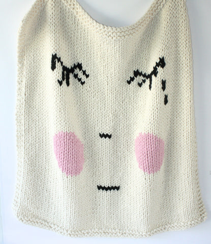 Sad Face Blanket