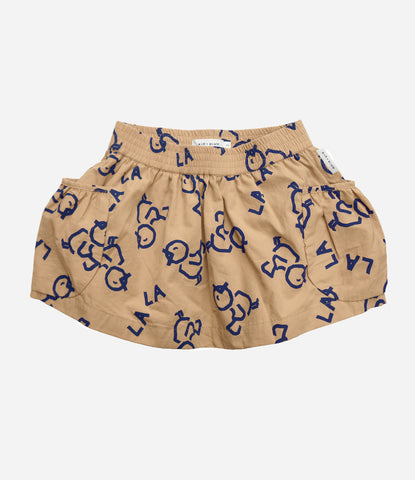 Kid + Kind Mockingbird skirt, for the gals, super cool, funky, organic. Find yours at Made Mini Store. NZ based online childrenswear store. Free New Zealand Shipping. We also ship worldwide.