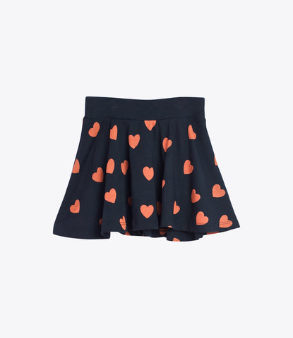 Mini Rodini love skirt, environmentally friendly, organic, mickey mouse club, girls clothing, ship worldwide, Made Mini in auckland, nz boutique