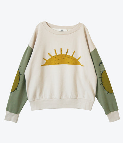 Neguev Sweatshirt by Bandy Button, super cool, unisex, lightweight jumper for girls and boys. Designer clothing for kids. Auckland, NZ