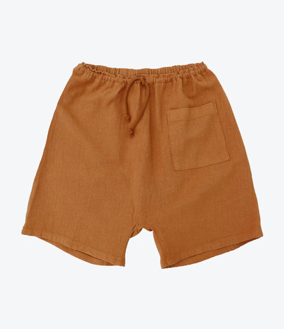 Nico Nico Clothing, Pico Chevron Harem Short, Twig. Boys shorts, sustainable fashion, shop now, MADE mini Store, Auckland, NZ