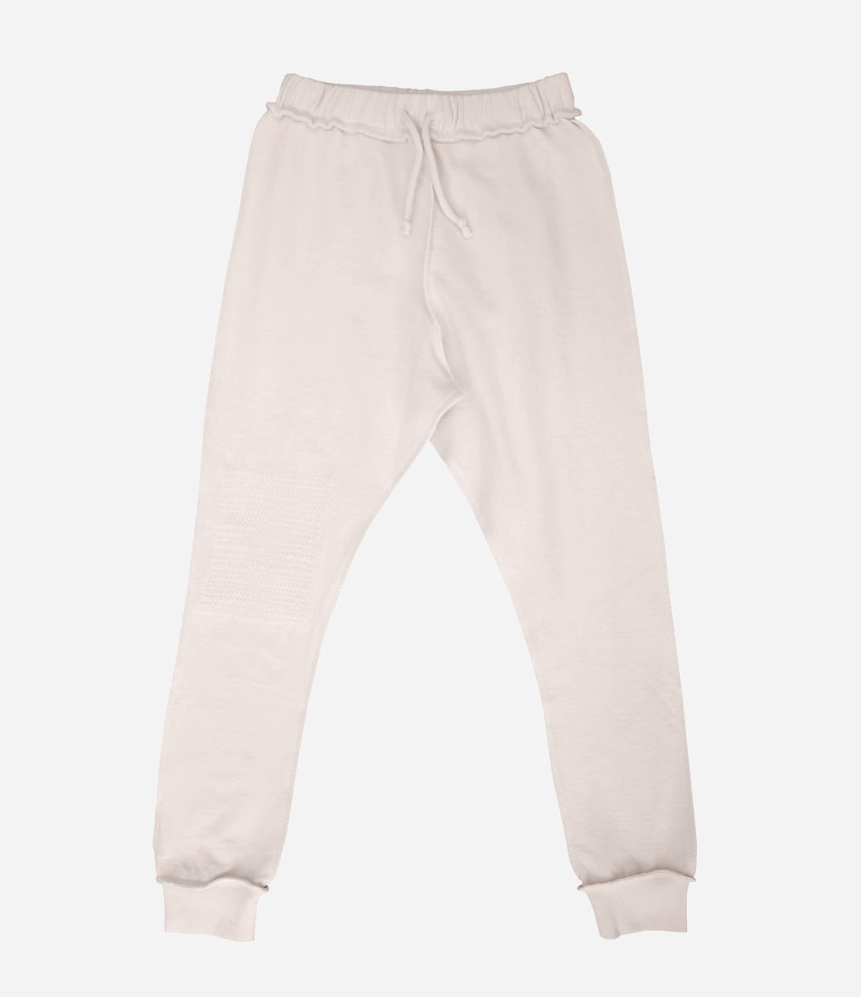 Kid + Kind repair stitch pant. Unisex, classic, wardrobe staple, organic basic. Shop now at Wilechile Boutique. Auckland Online based store. New Zealand