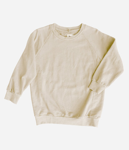 Nico Nico Sweatshirt, Jumper, pullover. Quality basics that will last, luxe, organic, fair-trade, environmentally friendly, green. Kids clothing, childrenswear, find yours at Made Mini, Auckland NZ. Free shipping New Zealand wide