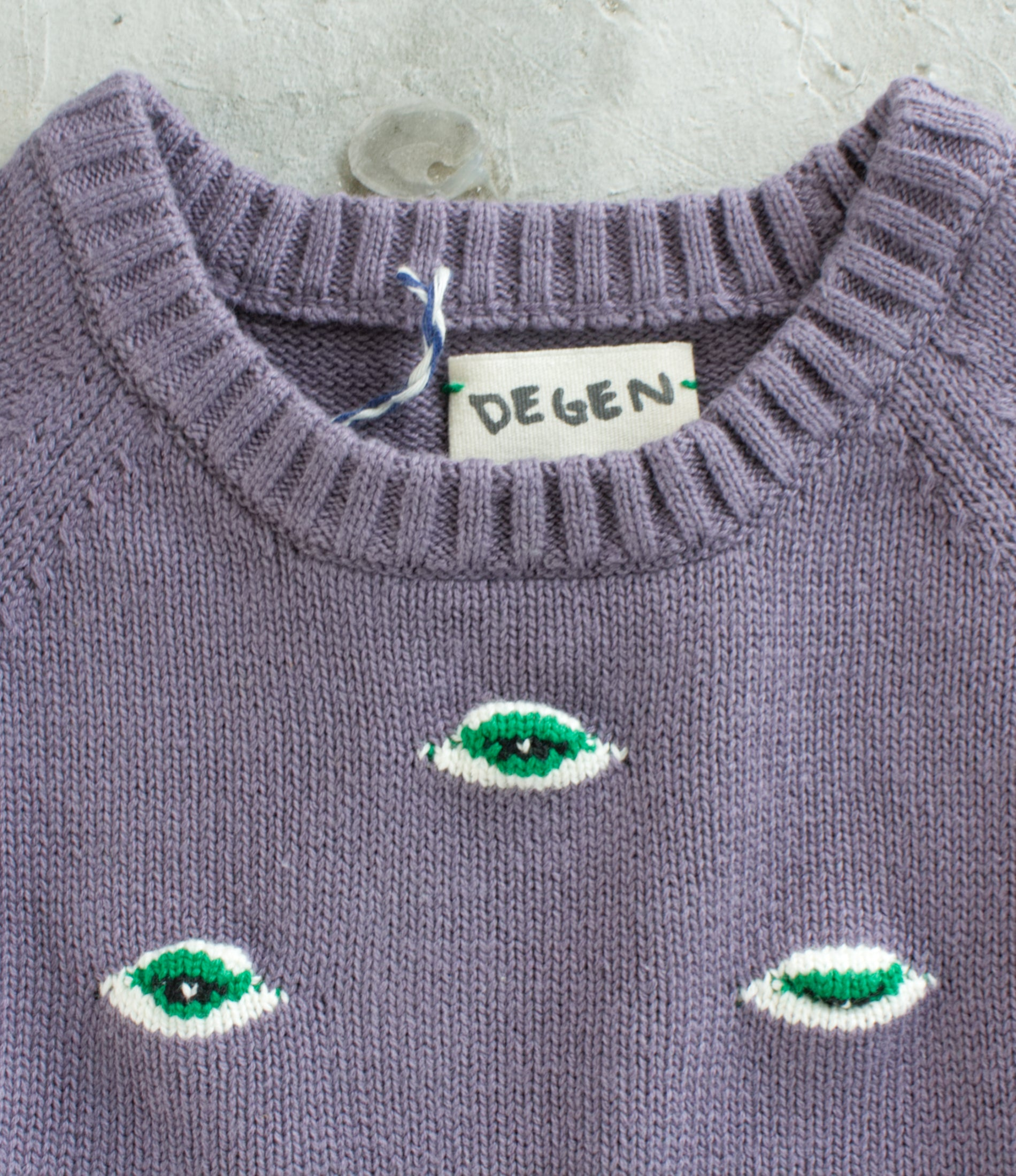 Purple Durple Eyez Sweater