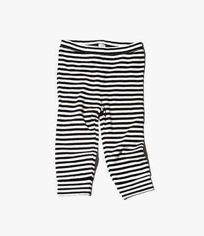 Baby legging stripe organic unisex comfy cozy basic shop now at Made Mini Store