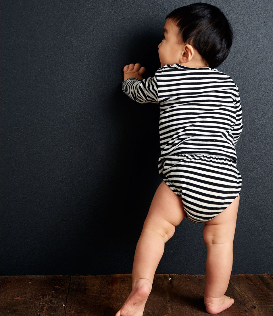 Baby Thermal Top in Stripe