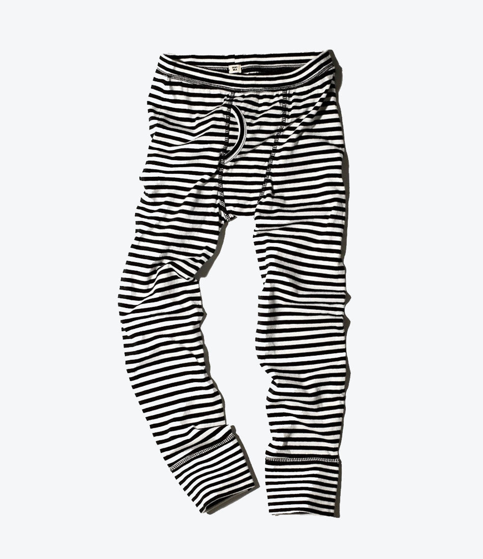 Goat milk, boys thermal pant, striped, winter, undergarments, organic, comfy, soft, must have, nz. Mademini