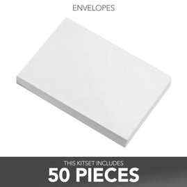 Envelopes - White 5 x 7 - 50pack