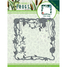 Dies - Amy Design - Friendly Frogs - Frog Frame