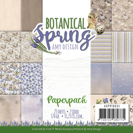 6x6 Paperpack - Amy Design - Botanical Spring