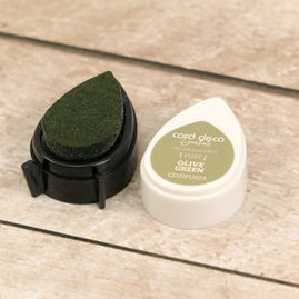 Card Deco Essentials Fade-Resistant Dye Ink Olive Green