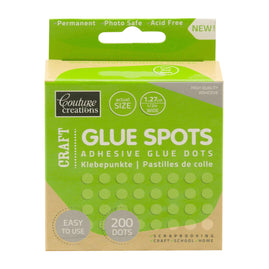 Adhesive - Glue Spots - Craft (1.27cm x 200pc)