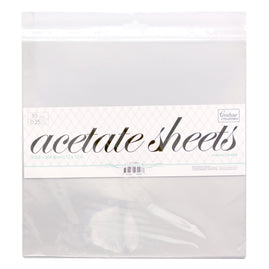 Acetate Sheets - 12x12 (10pc)