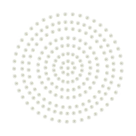 Adhesive Pearls - Cream (2mm- 424pc)