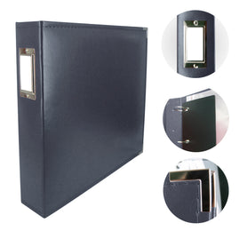 Album - Classic Superior Leather Album Dark Blue