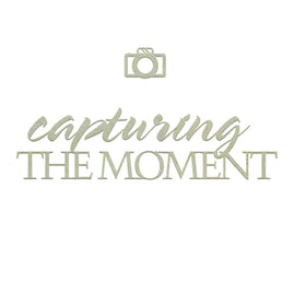 Chipboard - Capturing the Moment Set (2pc)