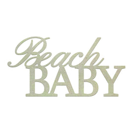 Chipboard - Beach Baby (1pc)