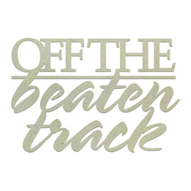 Chipboard - Off The Beaten Track (1pc)