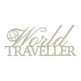 Chipboard - World Traveller (1pc)