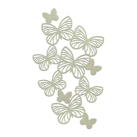 Chipboard - Butterfly Border (1pc)