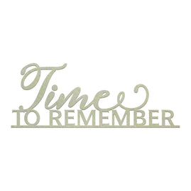 Chipboard - Time to Remember (1pc)