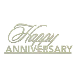 Chipboard - Happy Anniversary (1pc)