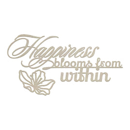 Chipboard - LPJ - Happiness from Within Set (3pc)
