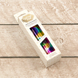 Foil - Rainbow Spots (Mirror Finish) - Heat activated