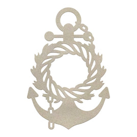 Chipboard - SM - Wreathed Anchor