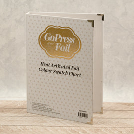 *GoPress & Foil Machine - Heat Activated Foil Swatch Book