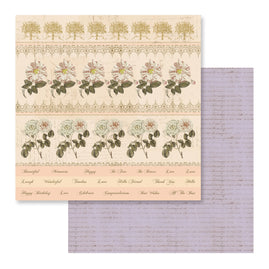Paper - 12 x 12in - Butterfly Garden - Sheet 4 - 304.8 x 304.8mm | 12 x 12in