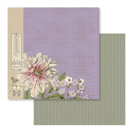 Paper - 12 x 12in - Butterfly Garden - Sheet 5 - 304.8 x 304.8mm | 12 x 12in